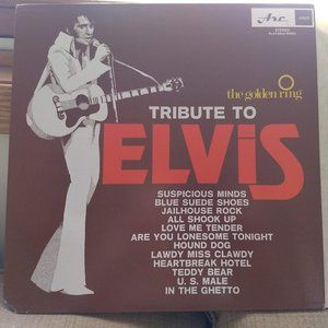 *3/$25 Golden Ring TRIBUTE to Elvis record
